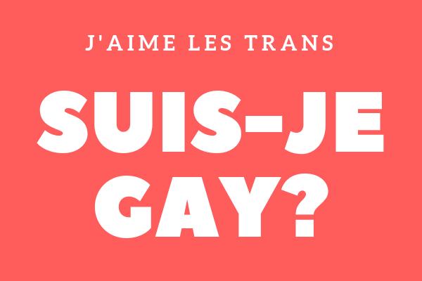 j'aime les trans suis je gay